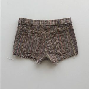 MOTHER Shorts - rainbow mother denim cut offs